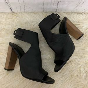 Vince Addie Peep Toe Ankle Strap Bootie 8.5